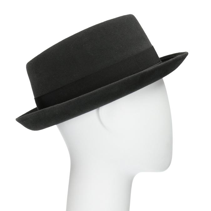 Pánsky klobúk so stuhou tonak, šedá, 909-2647 - 13