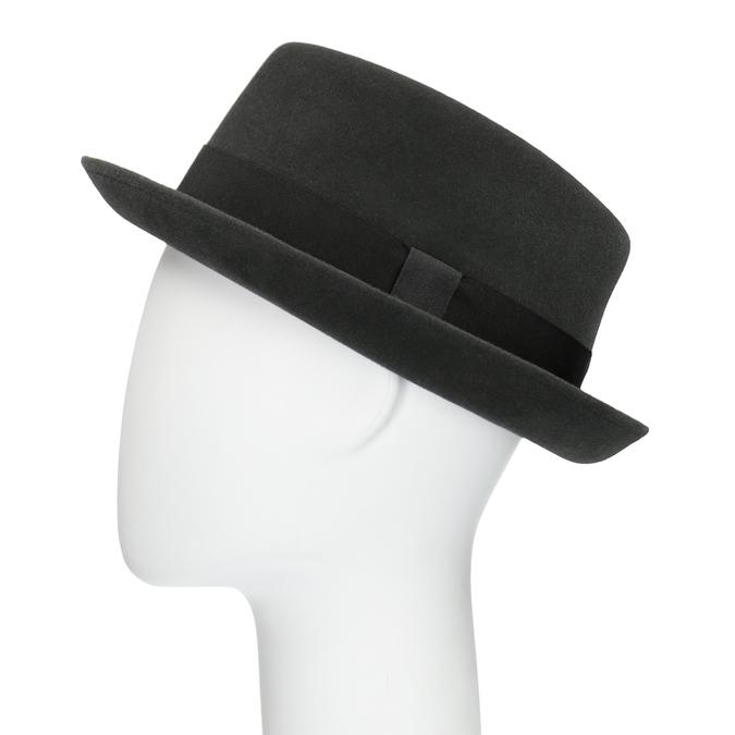 Pánsky klobúk so stuhou tonak, šedá, 909-2647 - 26