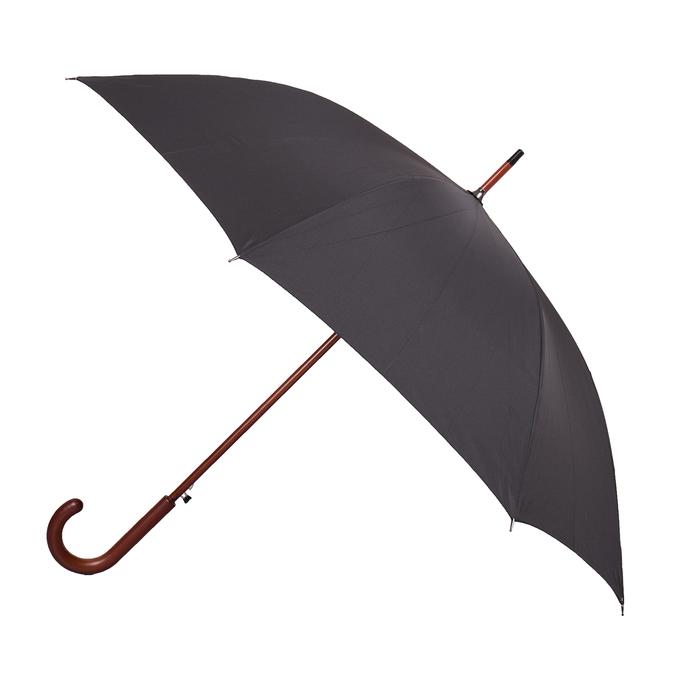 Veľký čierny dáždnik doppler, čierna, 909-6661 - 13