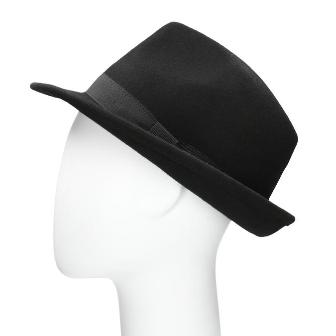 Čierny klobúk bata, čierna, 909-6674 - 26