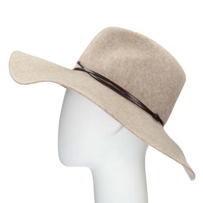Dámsky vlnený klobúk tonak, béžová, 909-8652 - 26