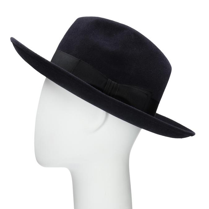 Tmavo modrý klobúk tonak, modrá, 909-9653 - 26
