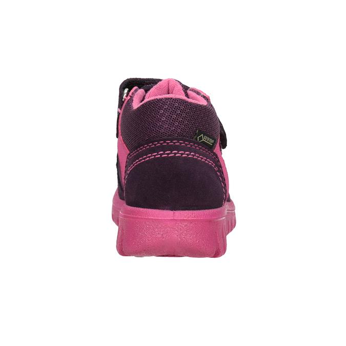 Kožená detská členková obuv superfit, fialová, 123-5036 - 16