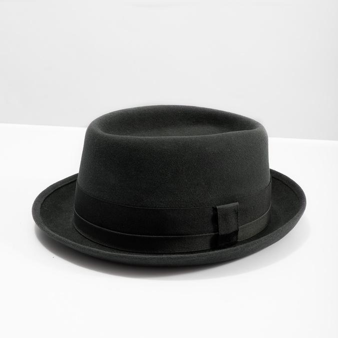 Pánsky klobúk so stuhou tonak, šedá, 909-2647 - 18