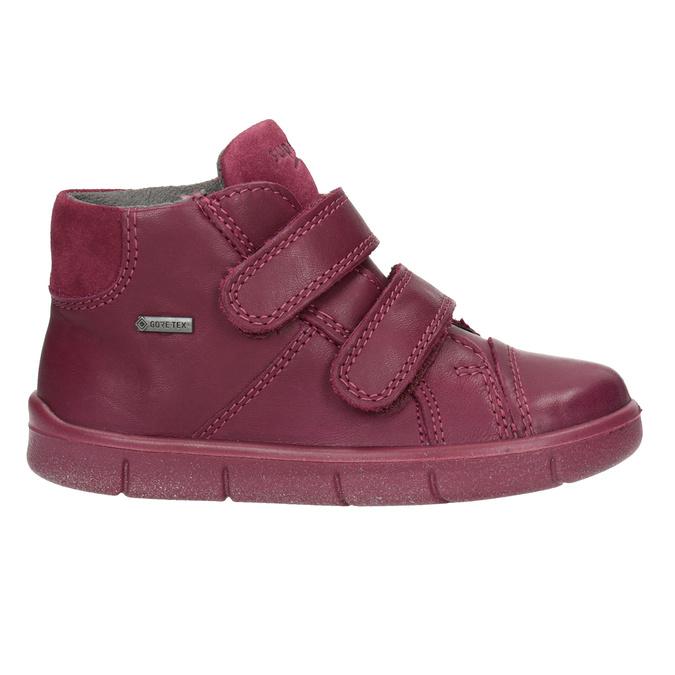 Detská členková kožená obuv superfit, červená, 124-5037 - 26