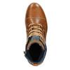 Pánska členková obuv bata, hnedá, 896-3669 - 15