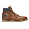 Pánska členková obuv bata, hnedá, 896-3669 - 26