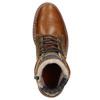 Pánska kožená obuv hnedá bata, hnedá, 896-3666 - 26