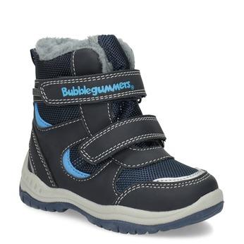 Detské zimné topánky s kožúškom bubblegummers, modrá, 199-9602 - 13