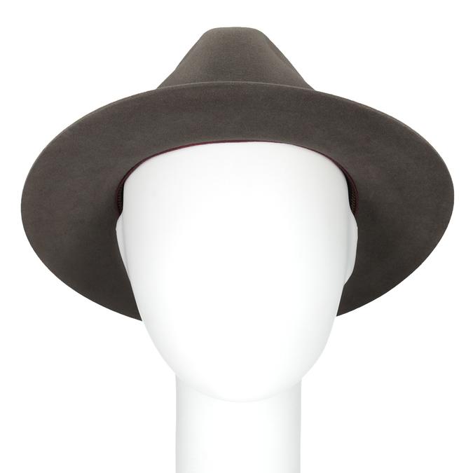 Pánsky klobúk z králičej srsti tonak, hnedá, 909-3650 - 16