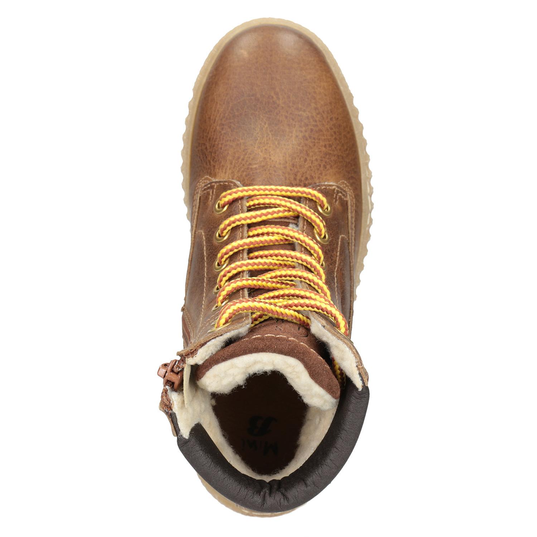 80482aa0ffc9 Mini B Hnedá detská zimná obuv - Zľavy