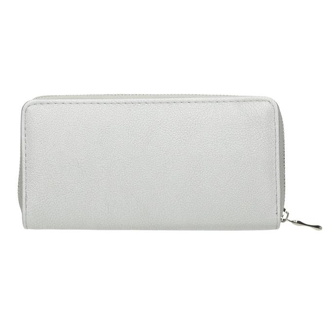 Strieborná dámska peňaženka bata, strieborná, 941-2155 - 16