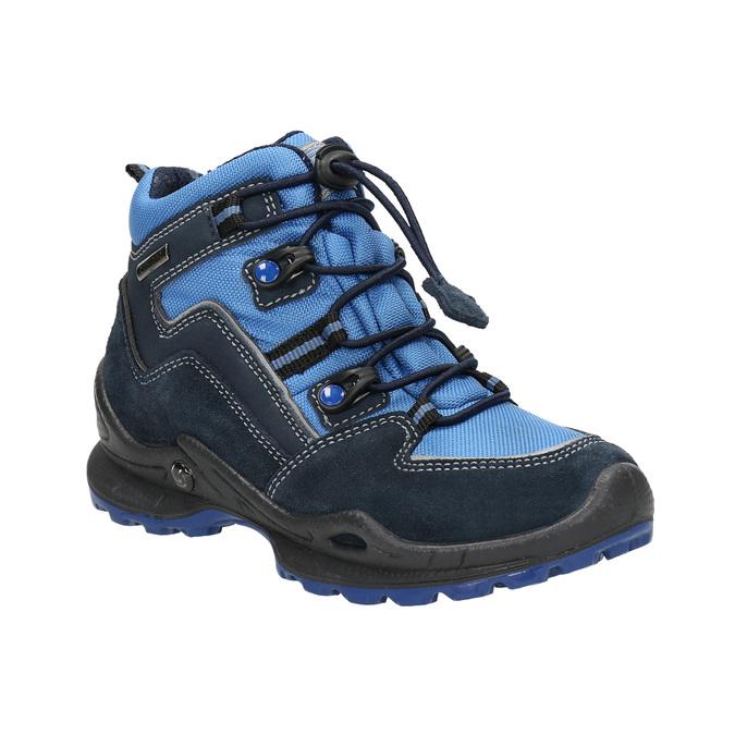 Detská zimná obuv mini-b, modrá, 293-9614 - 13