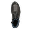 Kožená pánska zimná obuv bata, šedá, 896-2682 - 15