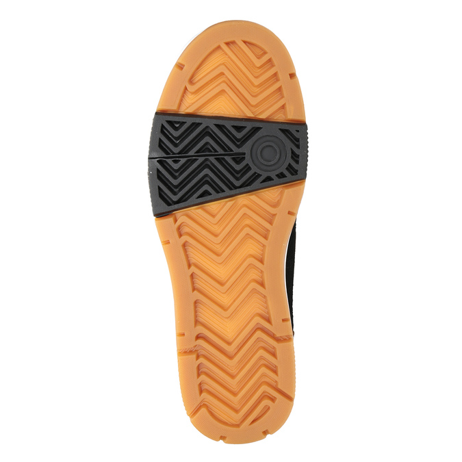 Pánska kožená členková obuv k1x, hnedá, 806-4552 - 17