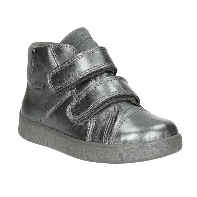 Detská členková obuv superfit, biela, 126-1037 - 13