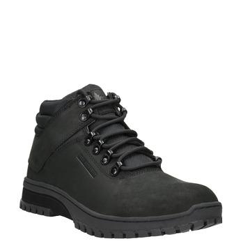 Čierna pánska členková obuv k1x, čierna, 806-6495 - 13