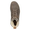 Kožená dámska zimná obuv weinbrenner, hnedá, 596-4666 - 15