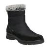 Dámske zimné snehule comfit, čierna, 599-6618 - 13