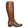 Dámské kožené čižmy s prackou bata, hnedá, 594-3427 - 15