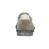 Pánske neformálne poltopánky z brúsenej kože bata, šedá, 853-2612 - 16