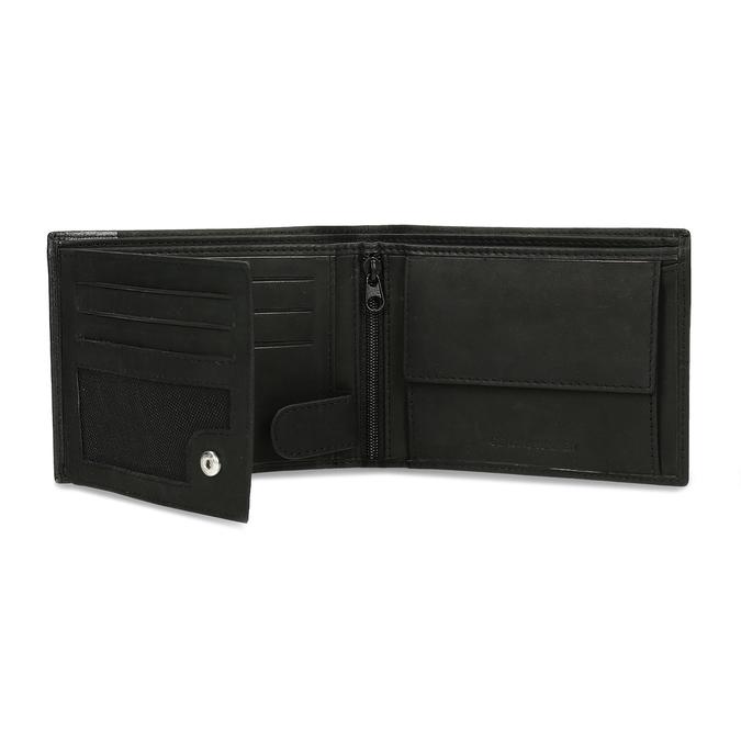 Pánska kožená peňaženka bata, čierna, 944-6188 - 15