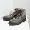 Členková dámska kožená obuv weinbrenner, šedá, 596-2672 - 18