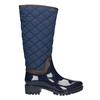 Modré dámske čižmy bata, modrá, 592-9402 - 26