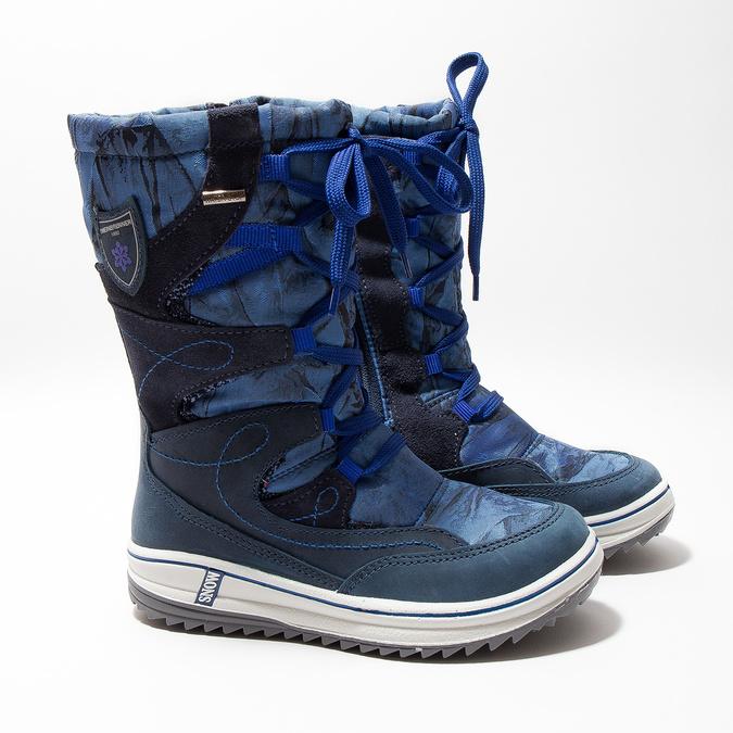 Detské snehule weinbrenner-junior, modrá, 393-9607 - 26
