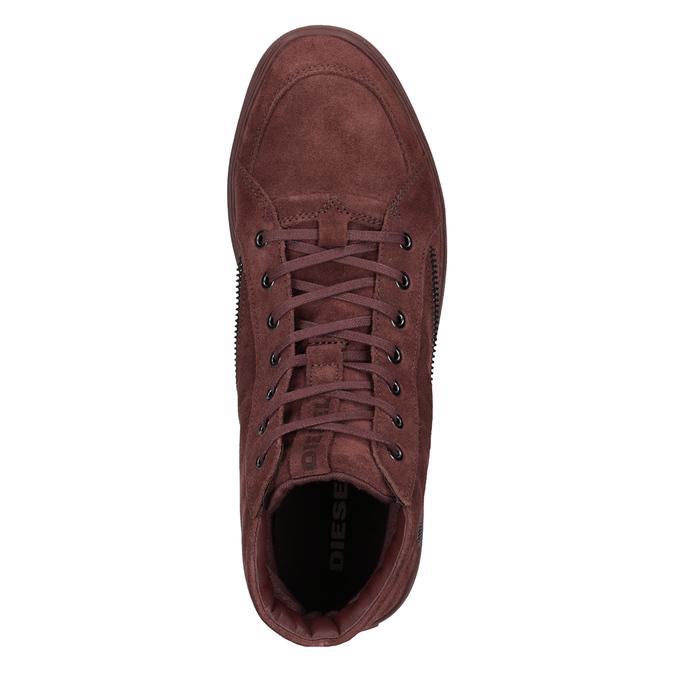Členková pánska obuv diesel, červená, 803-5629 - 15