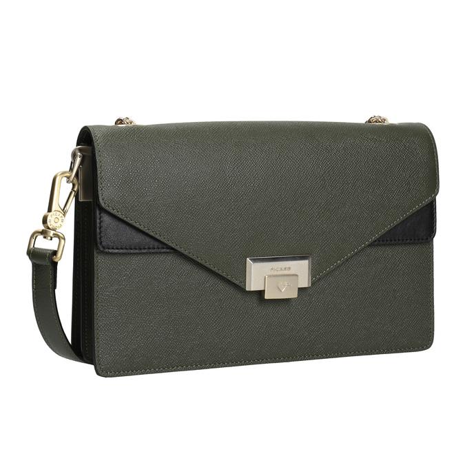 Dámska kožená listová kabelka picard, zelená, 964-7097 - 13