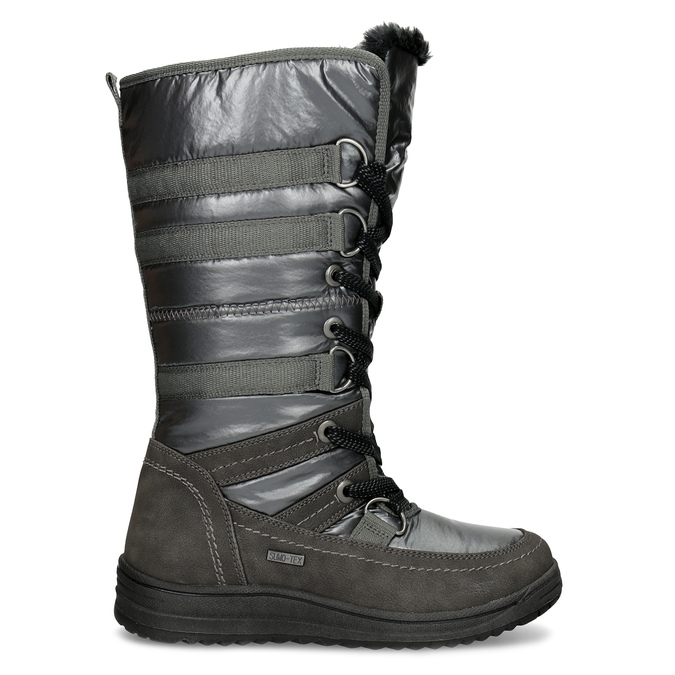 Dámske zimné snehule bata, šedá, 599-2619 - 19