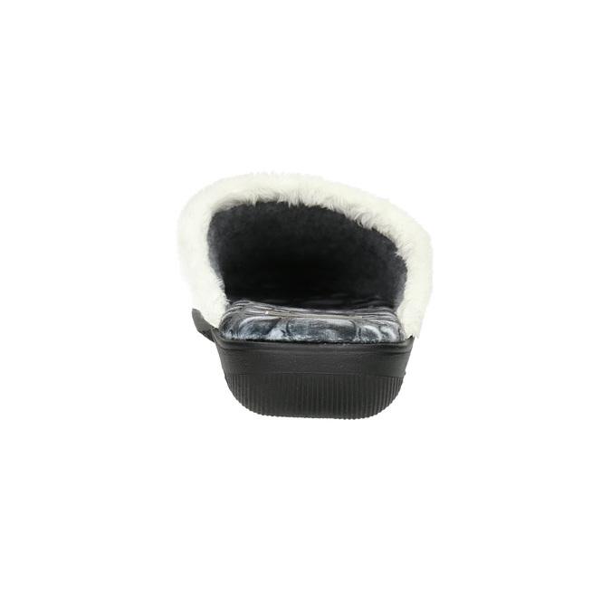 Dámska domáca obuv šedá bata, šedá, 579-2622 - 17