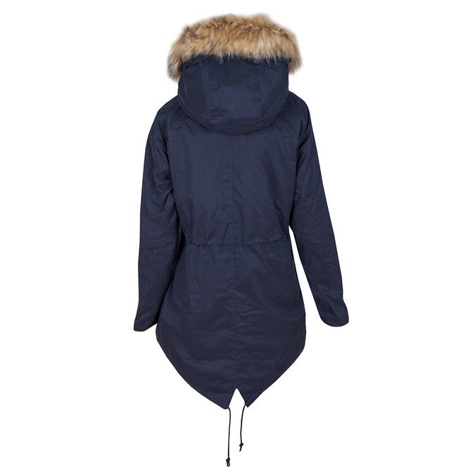 Dámská bunda s vymeniteľným kožúškom bata, modrá, 979-9131 - 26