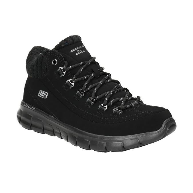 Dámska členková obuv skechers, čierna, 501-6314 - 13