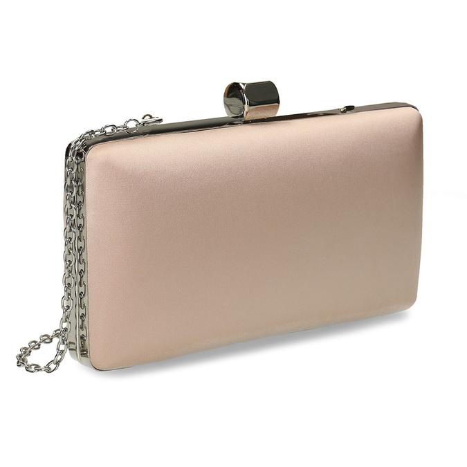 Krémová listová kabelka s retiazkou bata, 969-8671 - 13