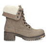 Kožená dámska zimná obuv weinbrenner, hnedá, 696-4336 - 19