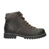 Kožená členková zimná obuv bata, šedá, 896-2660 - 15