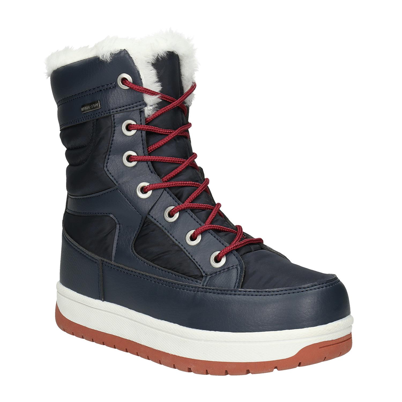 e05daa30f01fc Dámske snehule s kožúškom bata, modrá, 599-9617 - 13 ...