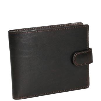 Pánska kožená peňaženka bata, hnedá, 944-4202 - 13