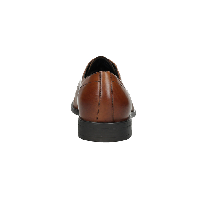 Kožené pánske poltopánky vagabond, hnedá, 824-3026 - 15
