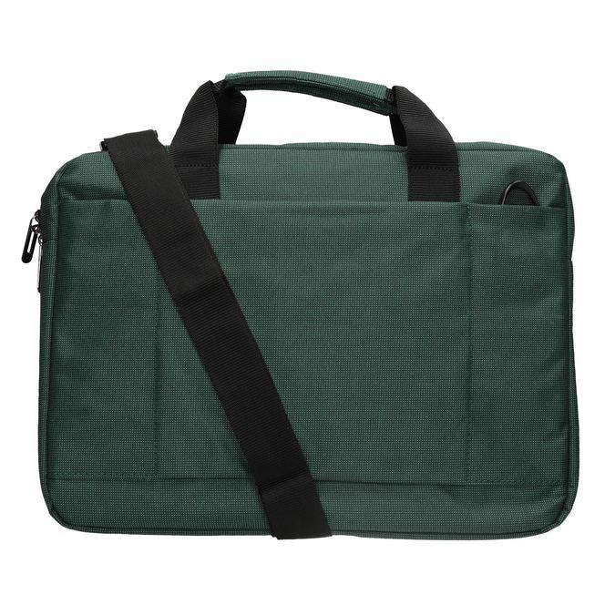 Textilná taška na notebook samsonite, zelená, 969-7681 - 16