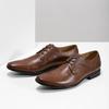Pánske kožené poltopánky hnedé bata, hnedá, 826-3758 - 16