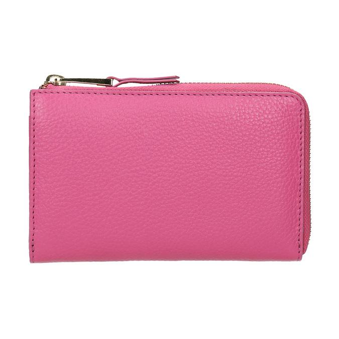 Ružová kožená peňaženka bata, ružová, 946-5284 - 26