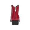 Červená členková obuv bata, červená, 594-5665 - 15