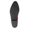 Červená členková obuv bata, červená, 594-5665 - 19