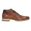 Pánska kožená členková obuv bata, hnedá, 826-3925 - 26