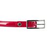 Červený lakovaný opasok bata, červená, 951-5603 - 26