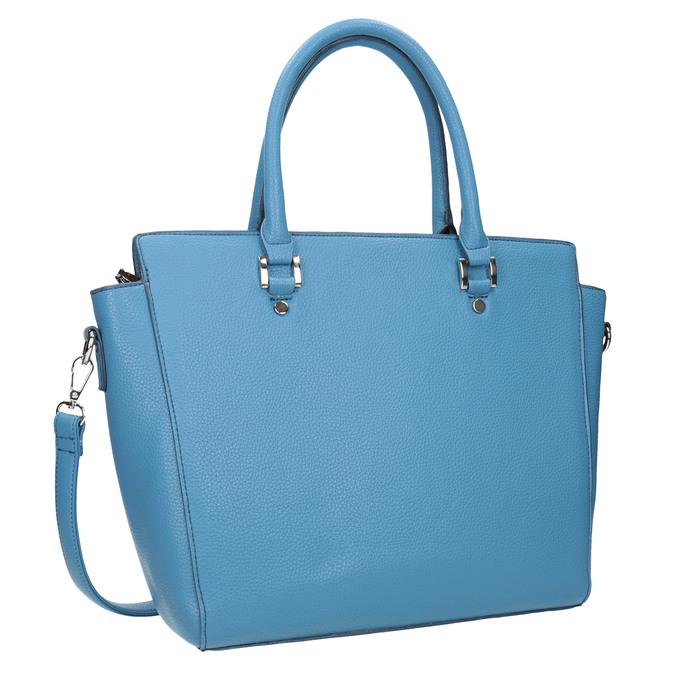 Modrá dámska kabelka bata, 961-9845 - 13