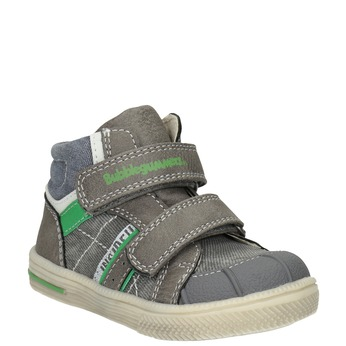 Členková detská obuv bubblegummers, šedá, 111-2614 - 13